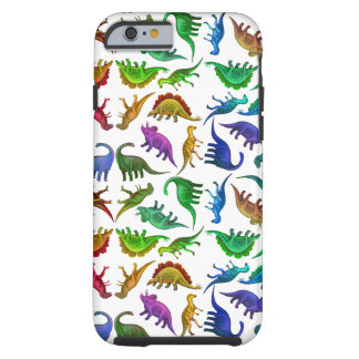 I Love Colorful Dinosaurs iPhone 6 Case