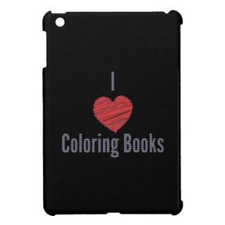 I Love Coloring Books iPad Mini Case