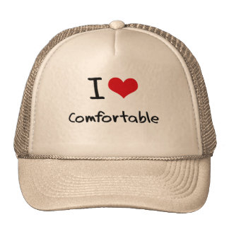 I love Comfortable Trucker Hat