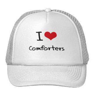I love Comforters Hat