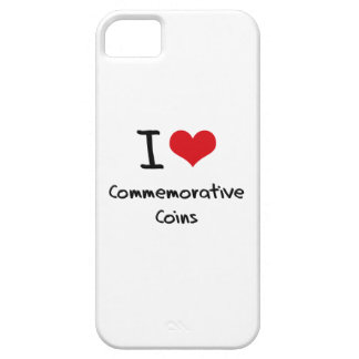 I love Commemorative Coins iPhone 5 Cases