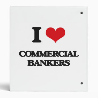 I love Commercial Bankers 3 Ring Binders