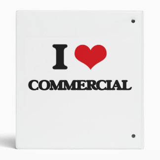I love Commercial Binders
