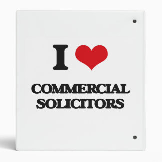 I love Commercial Solicitors Vinyl Binder