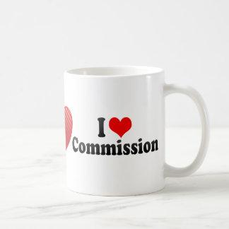 I Love Commission Coffee Mug