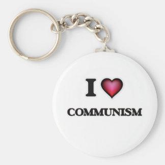 I love Communism Basic Round Button Keychain