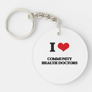 I love Community Health Doctors Acrylic Keychains