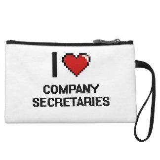 I love Company Secretaries Wristlet Clutches