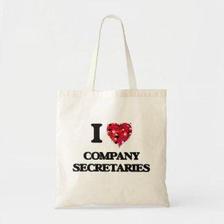 I love Company Secretaries Budget Tote Bag