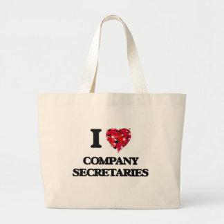I love Company Secretaries Jumbo Tote Bag