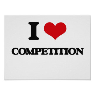 I love Competition Poster