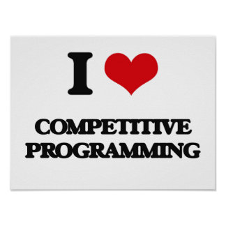 I Love Competitive Programming Print