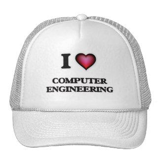 I Love Computer Engineering Trucker Hat