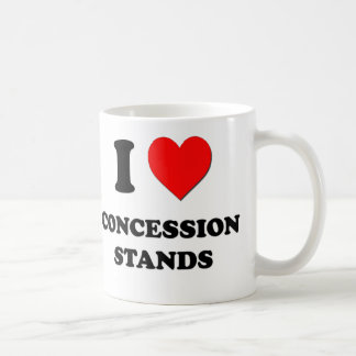 I love Concession Stands Coffee Mug