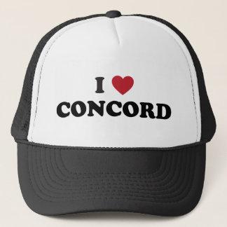 I Love Concord California Trucker Hat