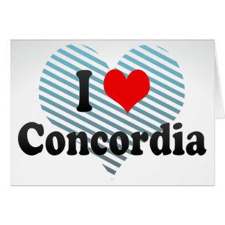 I Love Concordia, Argentina Card