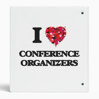 I love Conference Organizers 3 Ring Binders