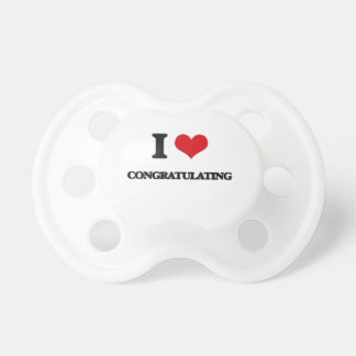 I love Congratulating BooginHead Pacifier