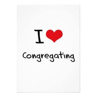 I love Congregating Custom Invites