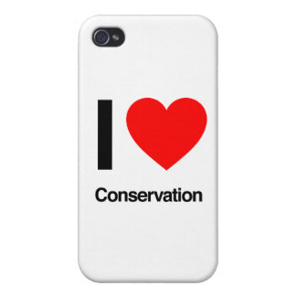 i love conservation iPhone 4 covers