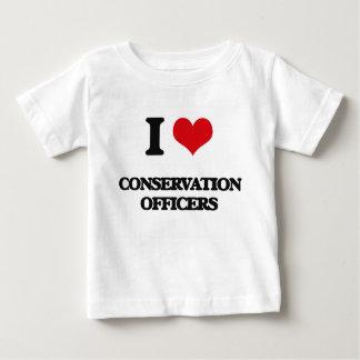 I love Conservation Officers Shirt