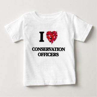 I love Conservation Officers T-shirt
