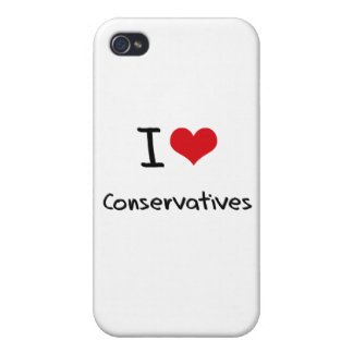 I love Conservatives iPhone 4/4S Case