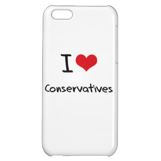 I love Conservatives Cover For iPhone 5C