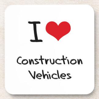 I love Construction Vehicles Coasters