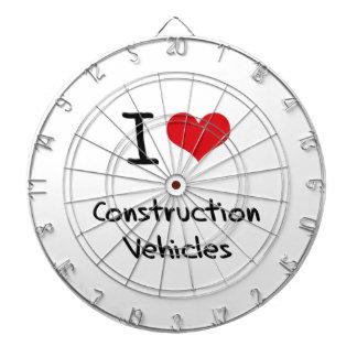 I love Construction Vehicles Dartboards