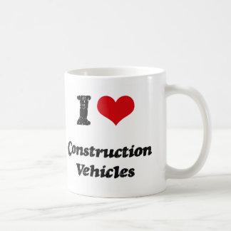 I love Construction Vehicles Mug