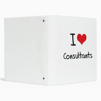 I love Consultants 3 Ring Binders