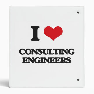 I love Consulting Engineers Binder