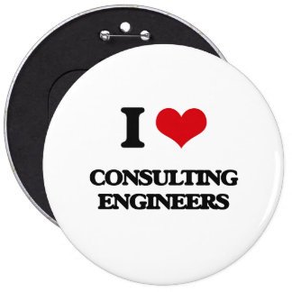 I love Consulting Engineers Pin