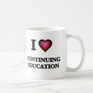 I love Continuing Education Coffee Mug