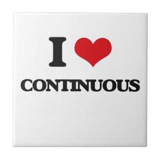 I love Continuous Tile