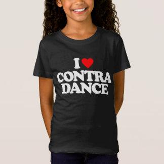 I LOVE CONTRA DANCE T-Shirt