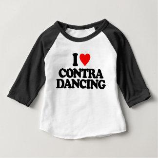 I LOVE CONTRA DANCING BABY T-Shirt