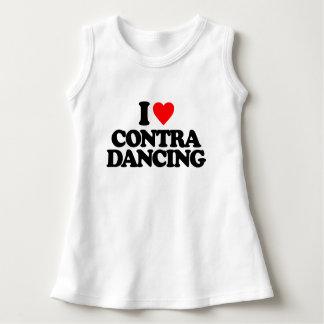 I LOVE CONTRA DANCING DRESS