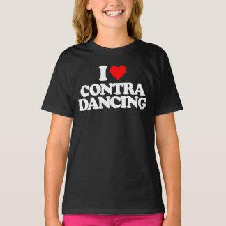 I LOVE CONTRA DANCING T-Shirt