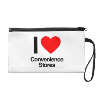 i love convenience stores wristlet