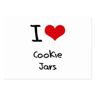I love Cookie Jars Business Cards