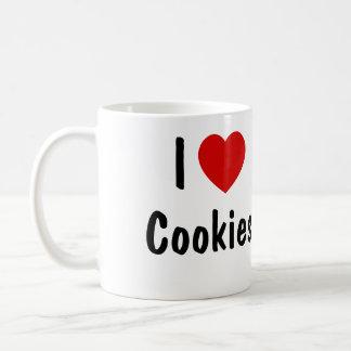 I Love Cookies Basic White Mug
