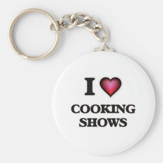 I love Cooking Shows Keychain