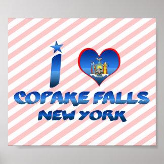 I love Copake Falls, New York Poster