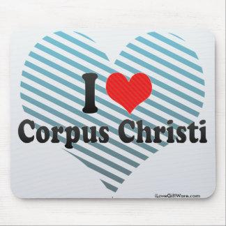 I Love Corpus Christi Mousepads