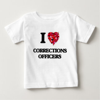 I love Corrections Officers Tee Shirts