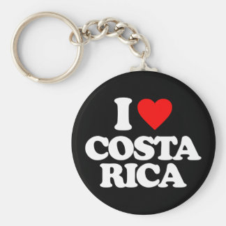 I LOVE COSTA RICA KEY CHAINS