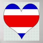I Love Costa Rica Print