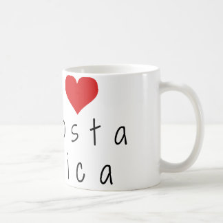 I Love Costa Rica Souvenir Coffee Mug